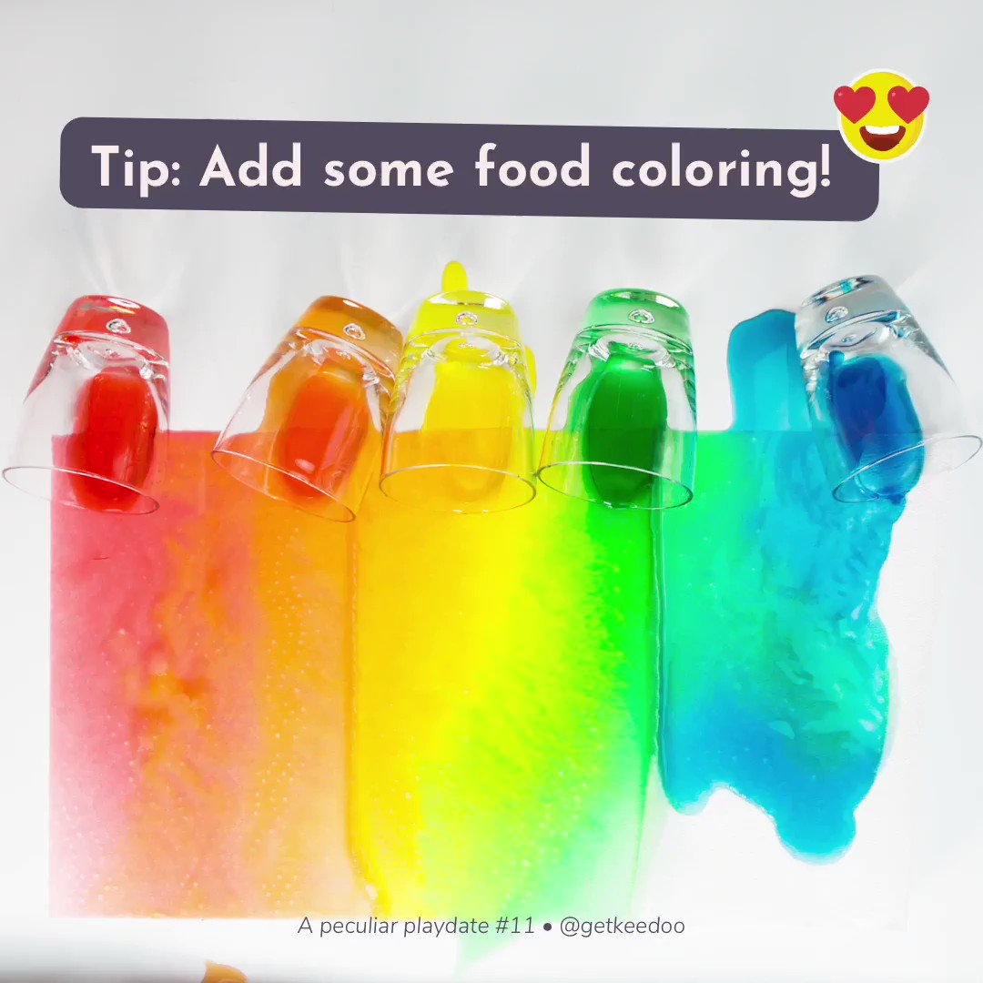 Make the experiment even more fun by adding food coloring to the water! 😜 —— #stem #stemgirls #stemwomen #stemeducation #playmatters #earlylearning #teachersfollowteachers #invitationtoplay #letthemexplore #earlylearning101 #learningthroughplay #stemkids #steamkidschallenge https://t.co/XjznTE4PFL