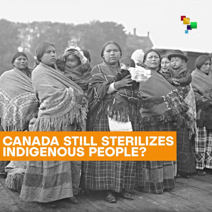 By @telesurenglish Sterilization of Indigenous women could still be happening in Canada.