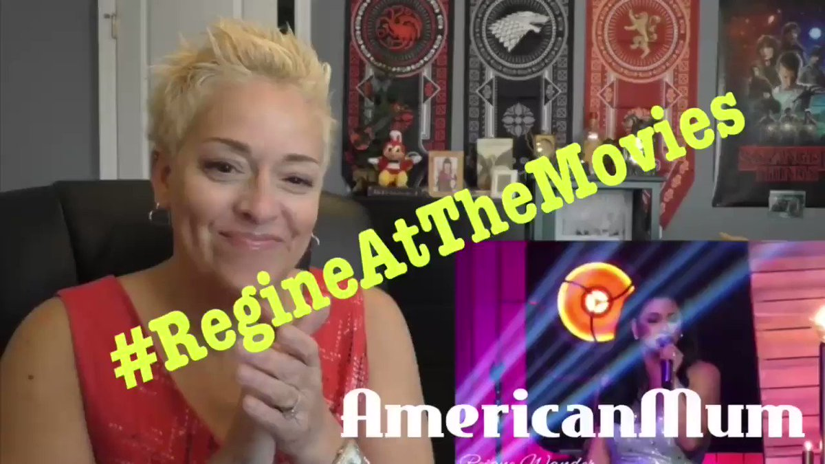 #RegineAtTheMovies  #AmericanMum  @mum_reacts  on Ms. @reginevalcasid  rendition of Never Enough from the movie The Greatest Showman 💜