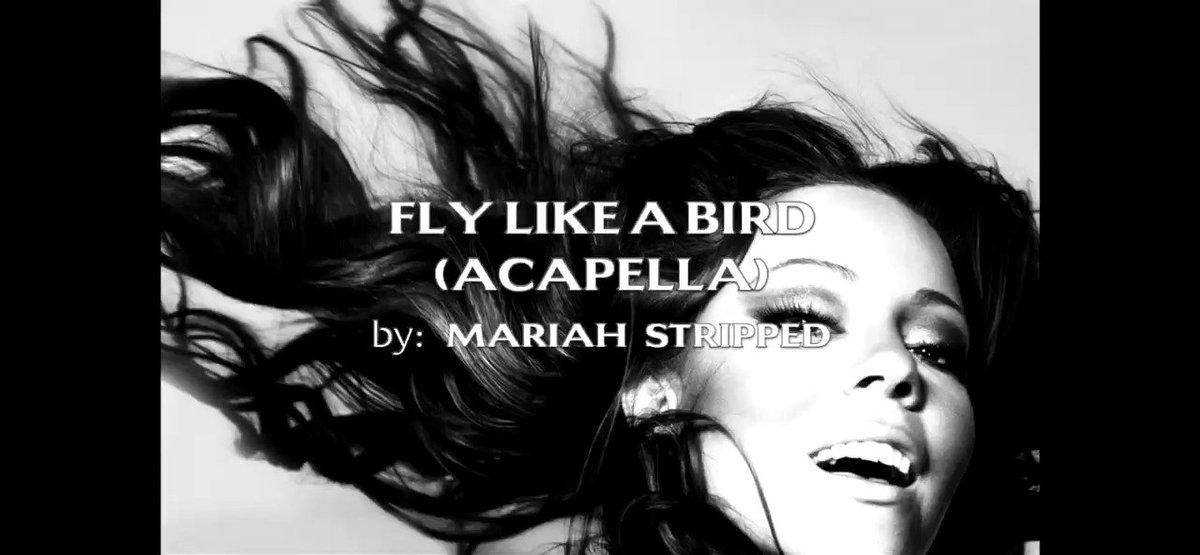 Mariah Carey Fly like a Bird acapella😍 https://t.co/X556wE2TdN