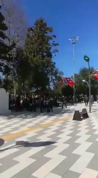 Hopayı AKPden alan CHP, belediye hoparlöründen Mozart çaldı.