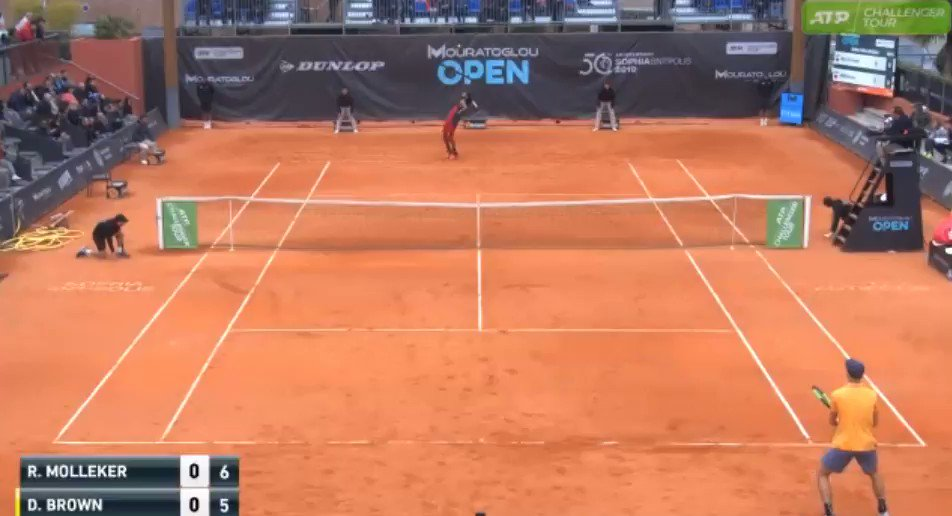 Brown vs Molleker (🎥@ATPChallenger )