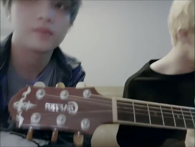 One year ago, Haechan uploaded his cover of Goodbye Summer with Mark playing the guitar 🥰