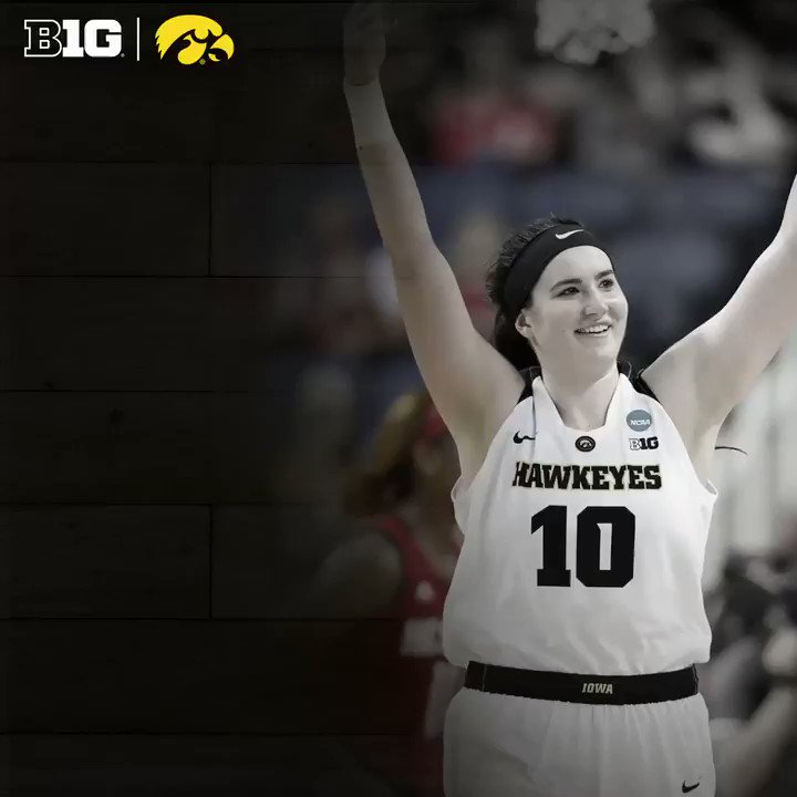 Megan Gustafson of @IowaWBB named 2019 @NaismithTrophy Women's Player of the Year. #B1GWBBall