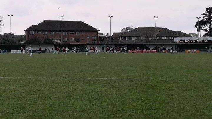 Goal   Bognor Regis Town FC 1-1 Brightlingsea Regent  Theo Widdrington from the spot on 69 mins