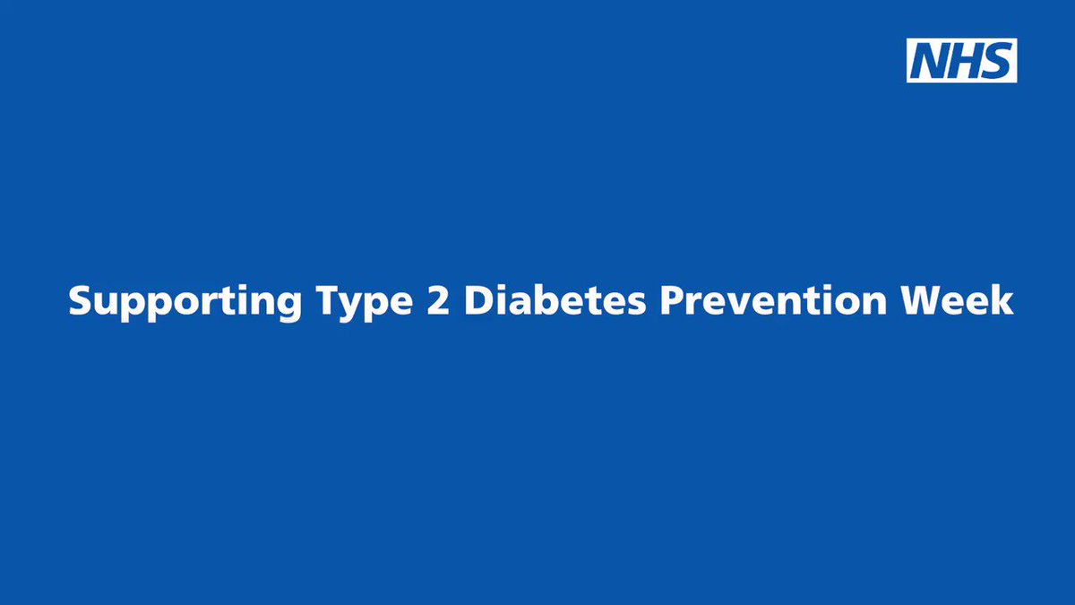 nhs información sobre diabetes
