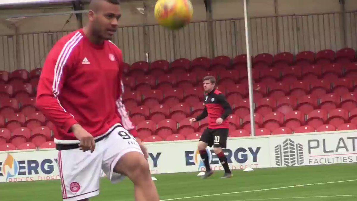 🎥 AcciesTV take you back to yesterday afternoon's showdown against St Mirren.   #WeAreHamilton🔴⚪️