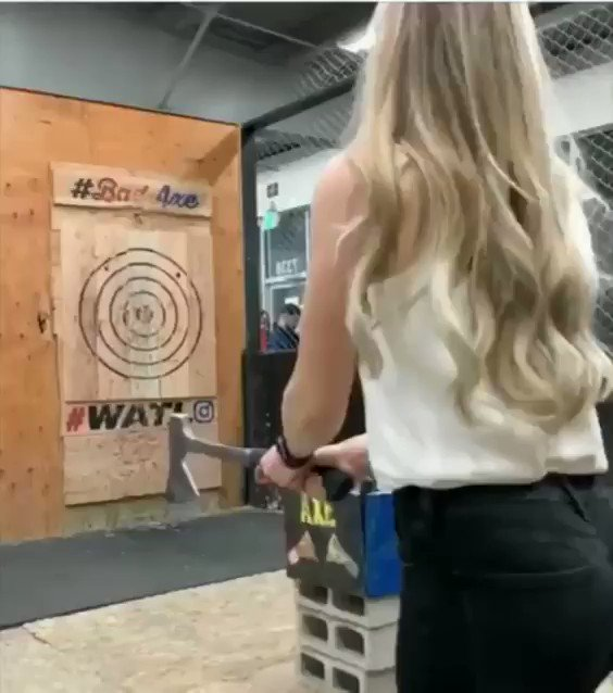 International Axe Throwing Day:  Look, it just isn't for everyone. And that's ok. https://t.co/AX3qjtKsjh