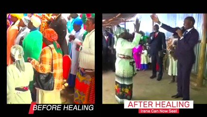 The healing Power ofGOD visit everywhere in this world it doesn't matter where you areSee how #BlindEyesOpen in kisii just from an announcement of a healing service by the Mightiest Prophets Prov 11:30The fruit of the righteous is a tree of life,And he who is wise wins souls.