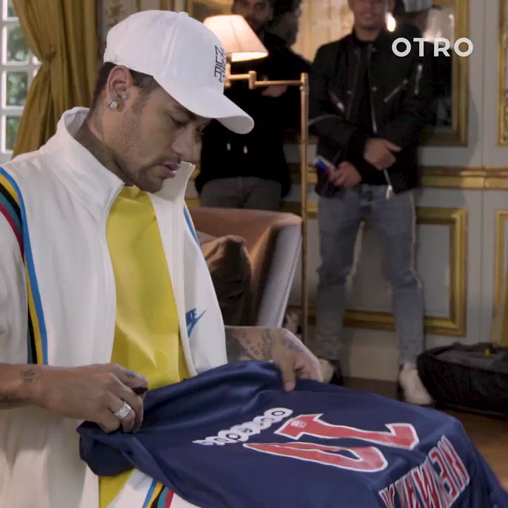 Signed, Sealed, Delivered. Here's your chance to win my signed shirt exclusively with @OTRO ! Head over to the app to enter now for your chance to win ! https://otro.onelink.me/32nO/6b29ef5d  #OurOtherClub