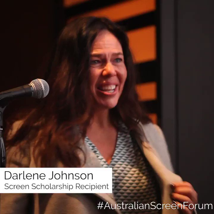 Indigenous Australian filmmaker #DarleneJohnson was awarded the inaugural @_aaausa — #AustralianScreenForum Screen Scholarship. The scholarship includes a $10,000 grant and a three-month attachment on a film that is due to shoot in New York later this year.