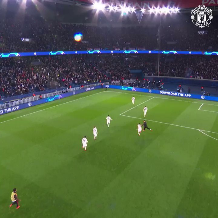 It's a night to savour.  It's a night to be United. It's a night to BELIEVE.  #MUFC #UCL