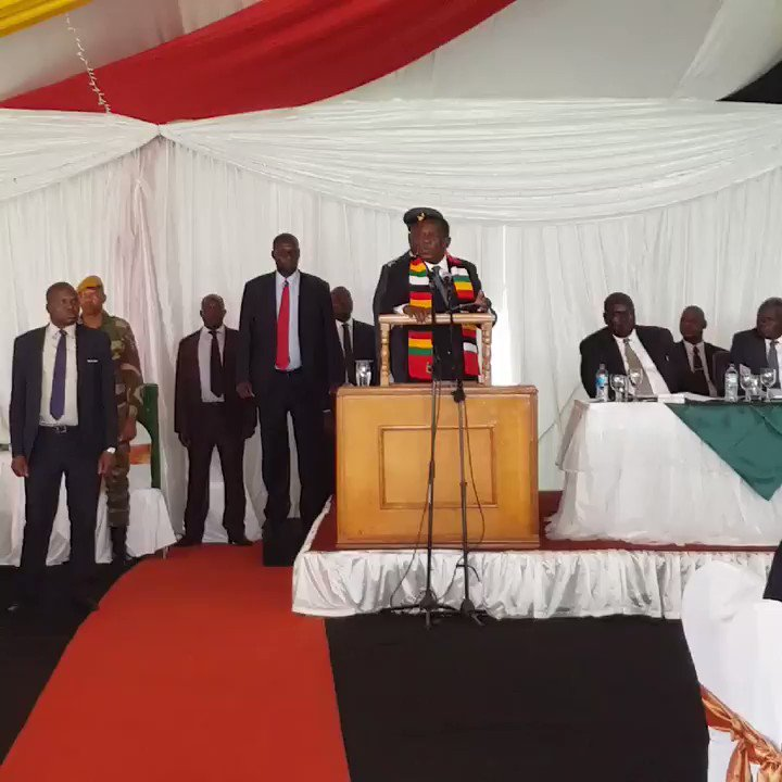 HE President @edmnangagwa says that Gvt will not tolerate abuse of the vulnerable especially women and childen in #CycloneIdai hit areas.