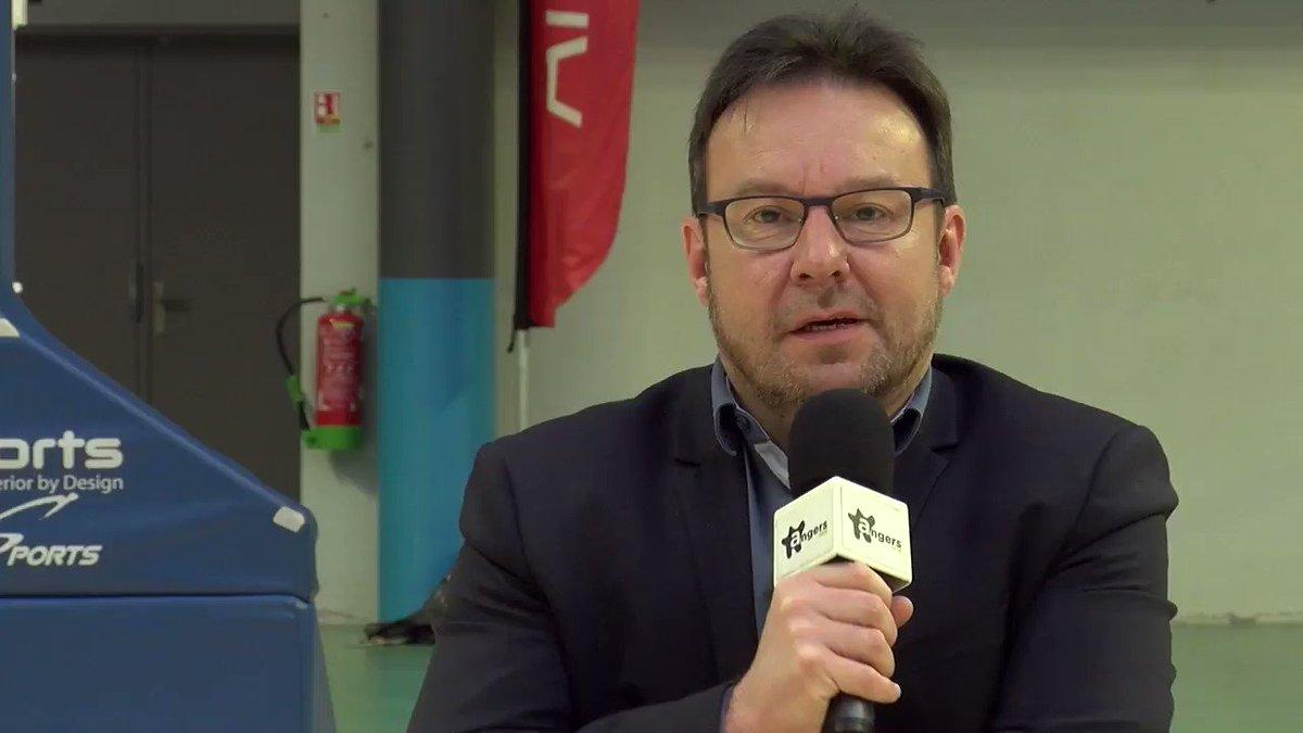Ce soir c'est Totalement Hand ! Le futur entraîneur adjoint ⚫ & ⚪,  Issam Tej,  rencontre @LardeuxT  en compagnie de Guillaume Dupin à 19h sur Angers Télé et sur la page Facebook Angers SCO Handball. #LaForceDuSCO