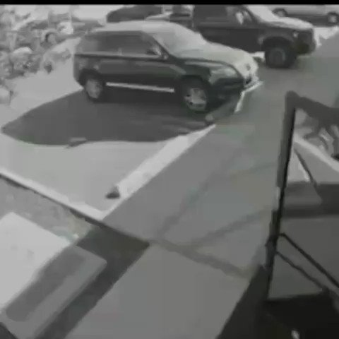 Sometimes you are all youve got and the next move you make in half a second determines whether you live or die, that was the fate of the woman in the surveillance footage. But hey! she survived. #surveillancefootage #CCTV #techy #blackandwhitefootage #survival #mitobisecurity