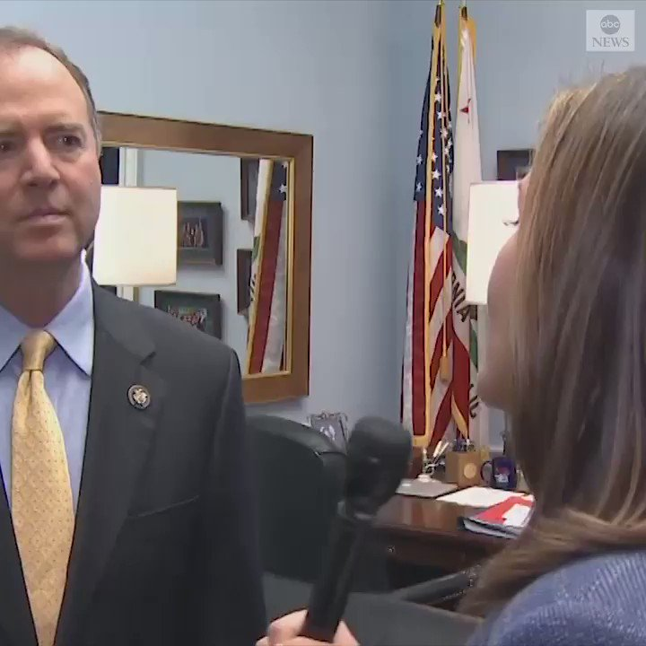 "Rep. Adam Schiff tells @marykbruce Barr is doing Trump's ""bidding"" by saying he wants to look into ""spying"" into the Trump campaign.  ""This must be very pleasing to Donald Trump, who wants to create a narrative that he's the victim of some deep state coup"""