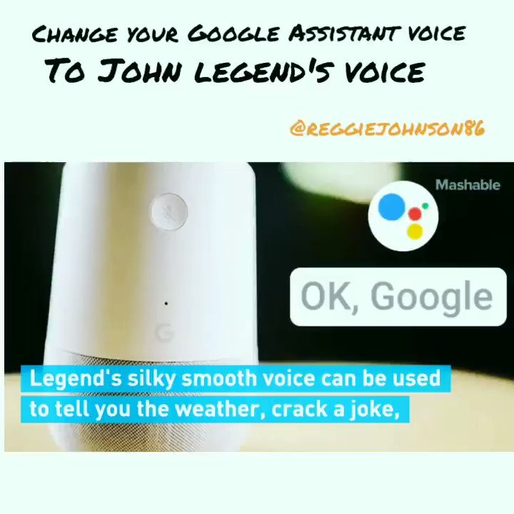 How To Change Google Voice To John Legend How to make John