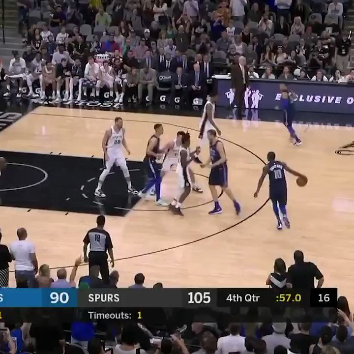 Dirk's last shot ever — what a career 🙌