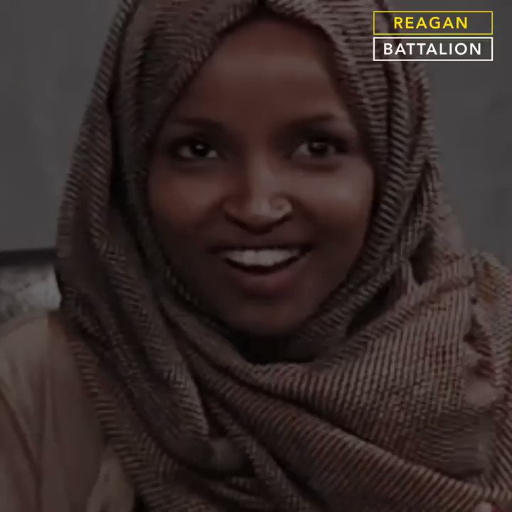 A recently discovered video shows @IlhanMN mocking Americans for their anxiety about al-Qaeda, equating US armed forces to al-Qaeda and Hezbollah.