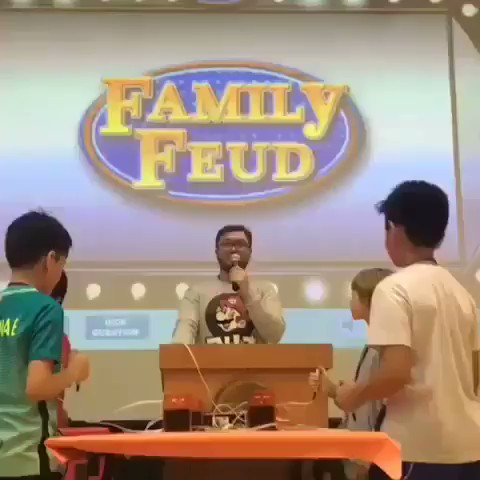 Students having lots of fun playing Family Fued during #AISQ8 #houseOlympics 🥇🏆a wonderful spirit day