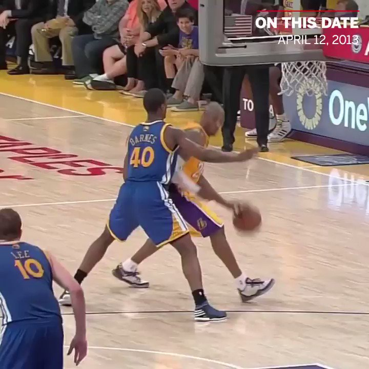On This Date: @kobebryant left the game after tearing his Achilles ... but not before sinking both free throws. 🐍