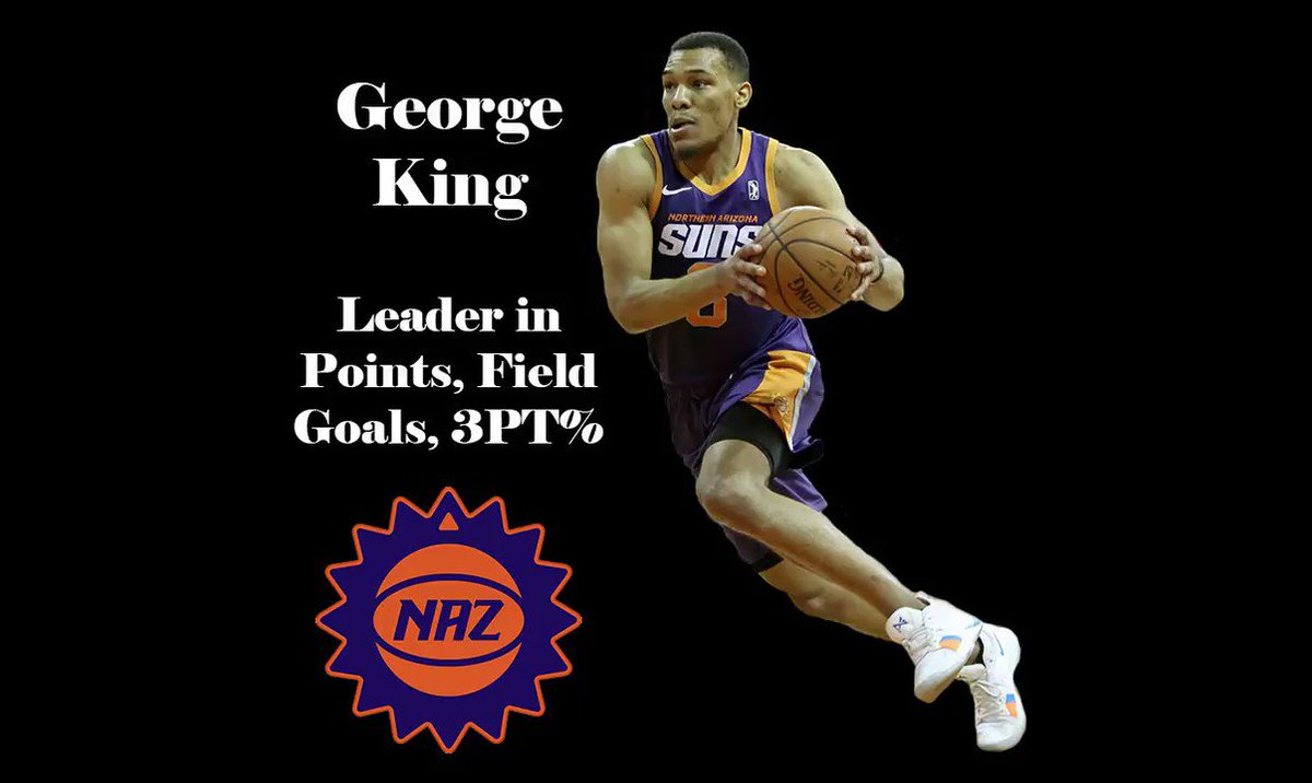 He made his mark early and was elite all year 👑 @2bkings showed off all parts of his game, leading the team in scoring and three-point shooting!  George King Season Highlights 👇