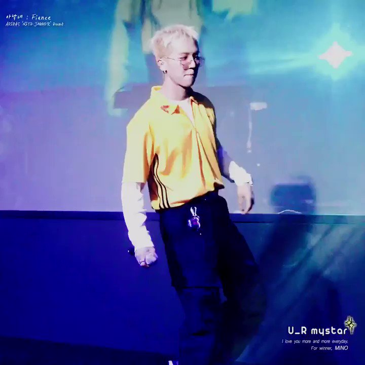 U_R mystar 송민호✨'s photo on Adidas