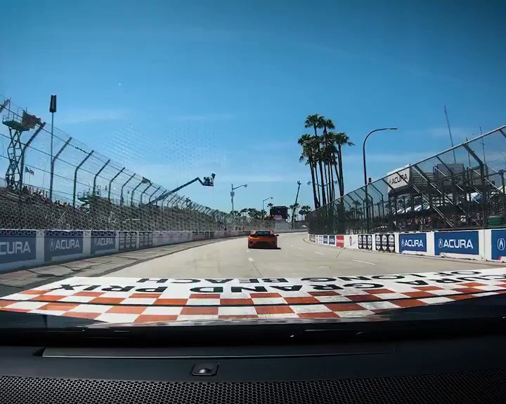 It's not light speed, but it's close. Ride along as the #NSX takes a hyperlapse hot lap at the Acura Grand Prix of Long Beach. #AGPLB