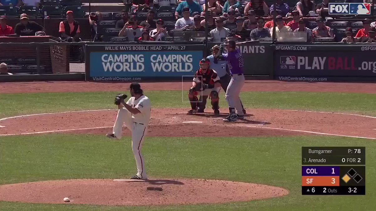 Nolan Arenado was HEATED after this pitch was called a strike.