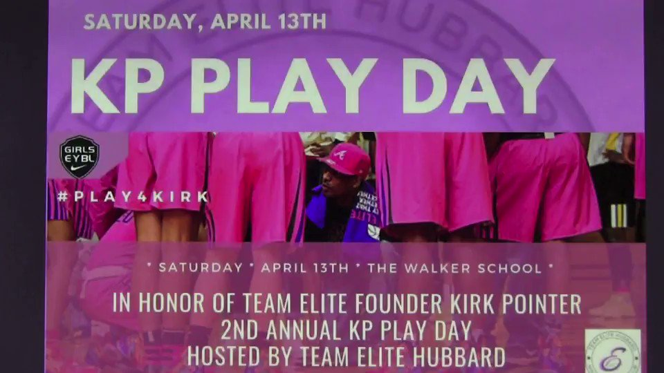 I remember freshman year Coach Pointer & @hubbardcoach would always greet me after some rough performances vs. HIES with a hug & words of encouragement! Therefore, today was very special for me to play in the KP Play Day and put on my Team Elite Hubbard jersey for the first time!