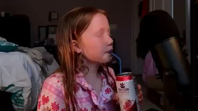 Gypsy Rose Blanchard drinking soda after finding out her sugar allergy was fake