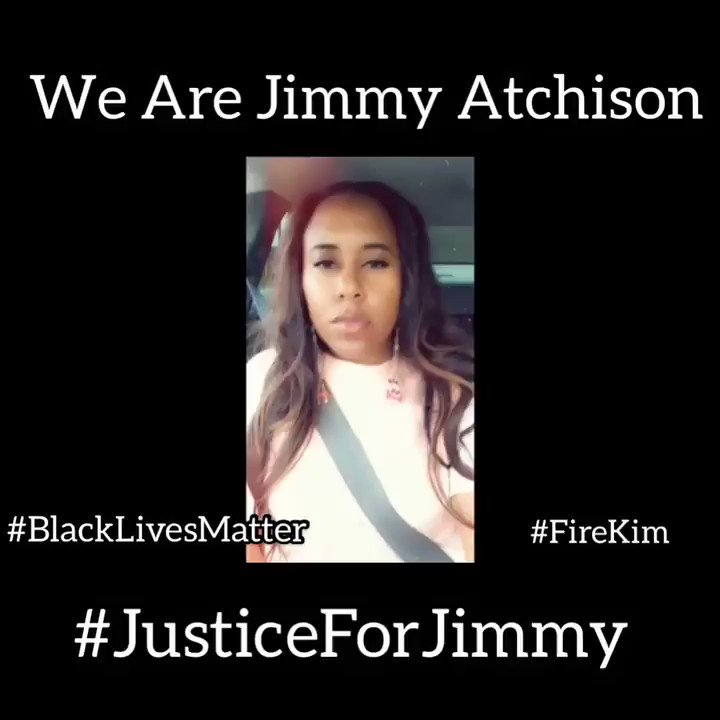 On January 22, 2019, #JimmyAtchison was shot in the face while he was unarmed by Atlanta Police Officer Sung Kim. Jimmy was a father, a son, a brother, a nephew, and a Native of Southwest Atlanta. WE ARE JIMMY ATCHISON. #JUSTICEFORJIMMY #Blacklivesmatter. @CityofAtlanta