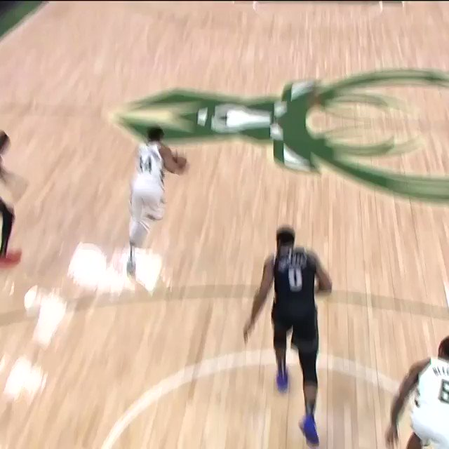 �� ALL-ANGLES FOR GIANNIS IN TRANSITION! ��  #FearTheDeer  #NBAPlayoffs @NBAonTNT https://t.co/3dzPi9ZSli