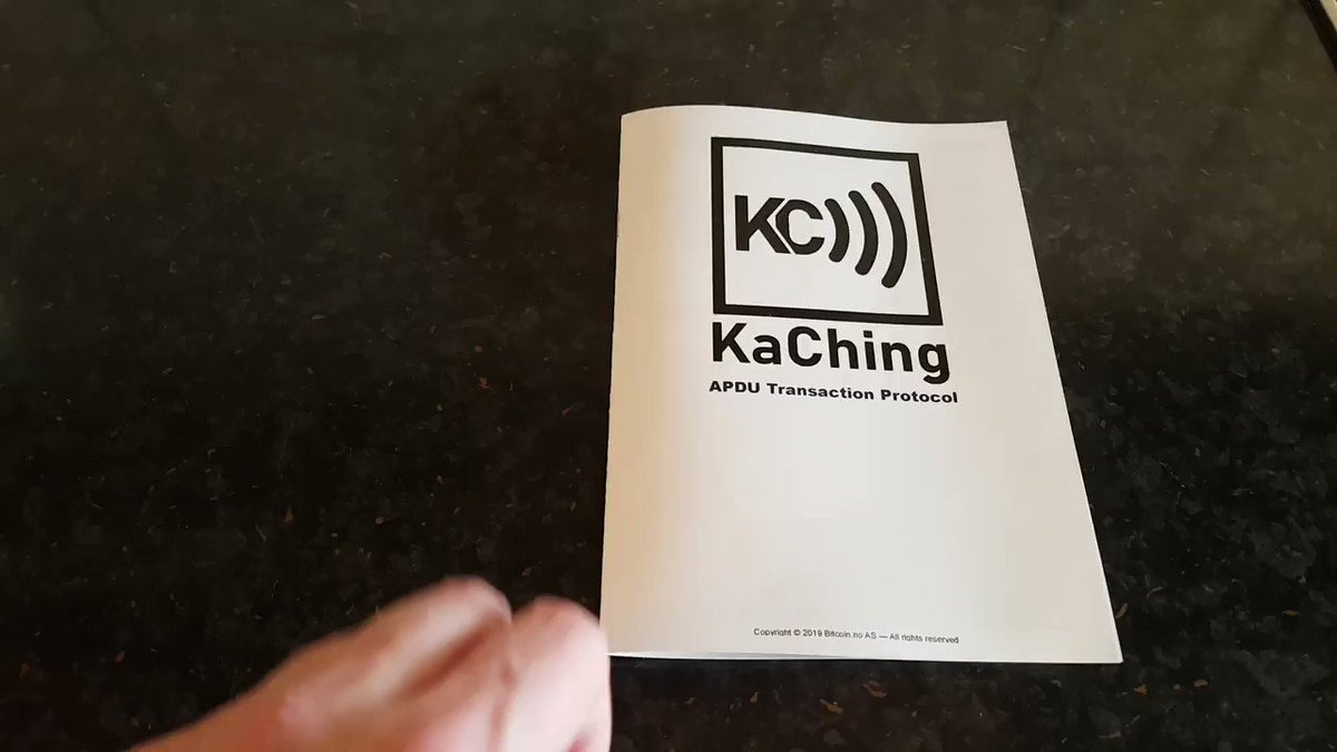 Image for the Tweet beginning: Today we release the KaChing