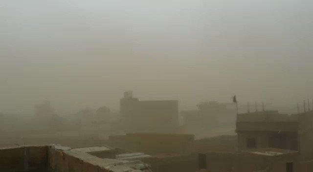 Danyal Gilani's photo on #DustStorm
