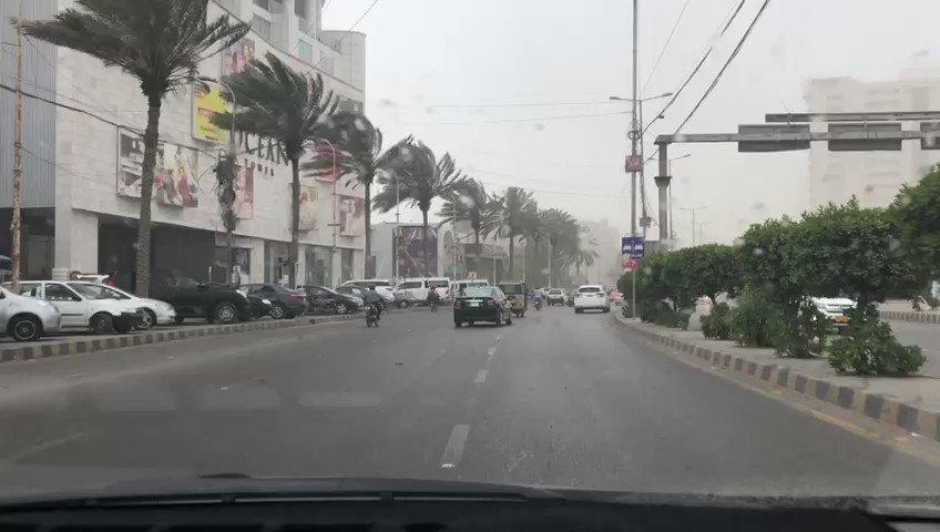 Sana Iqtedaar's photo on #DustStorm