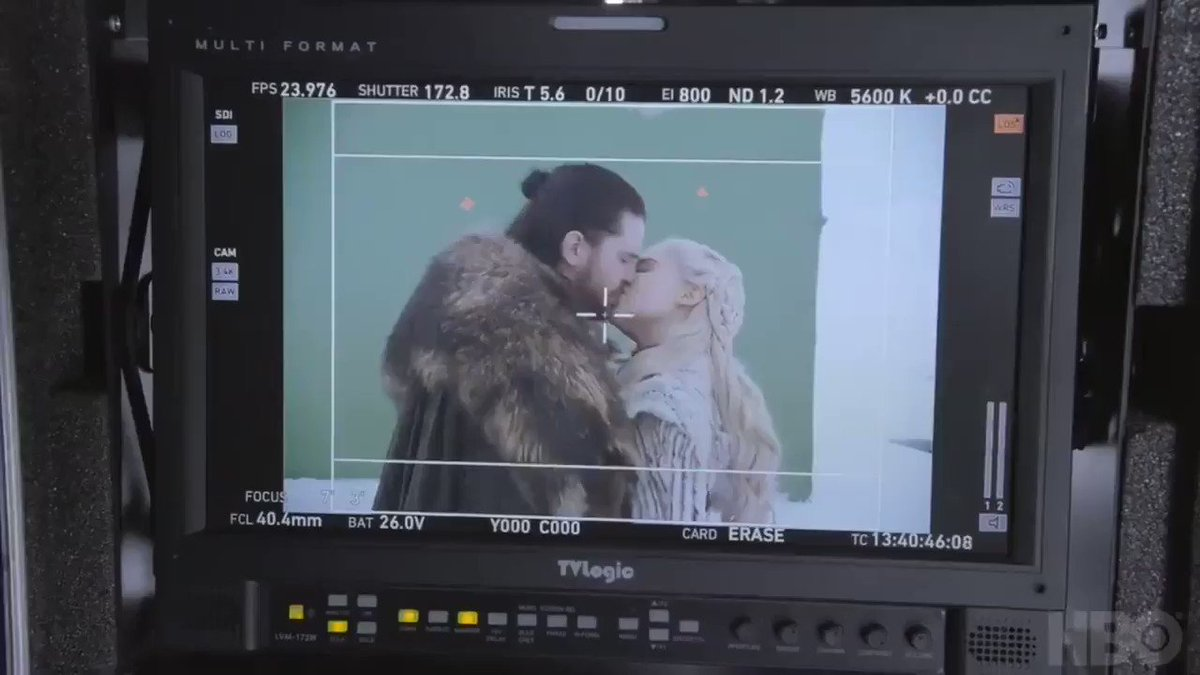 RT @gotactivity: Kit Harington pretending to gag after kissing Emilia Clarke #GameofThrones https://t.co/JtvqnJzSPt