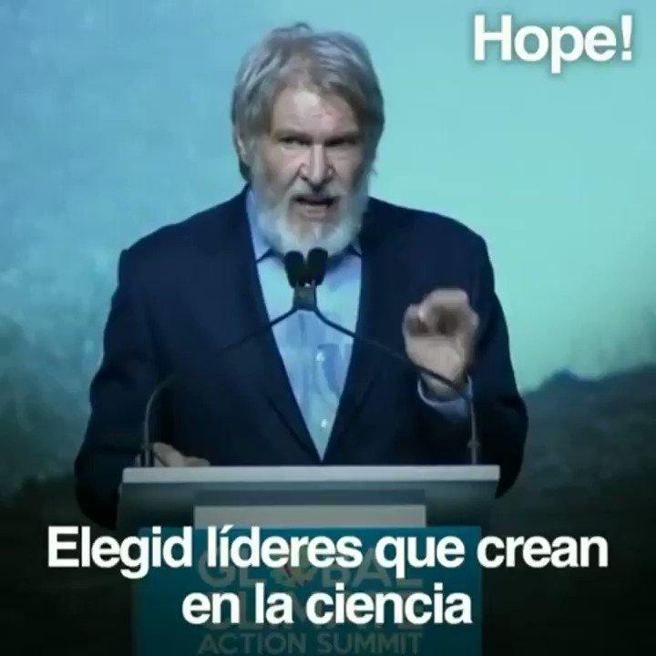 Harrison Ford: tremendo Dejad de votar liberales analfabetos, por el amor de dios. Vamos a patearles el culo...
