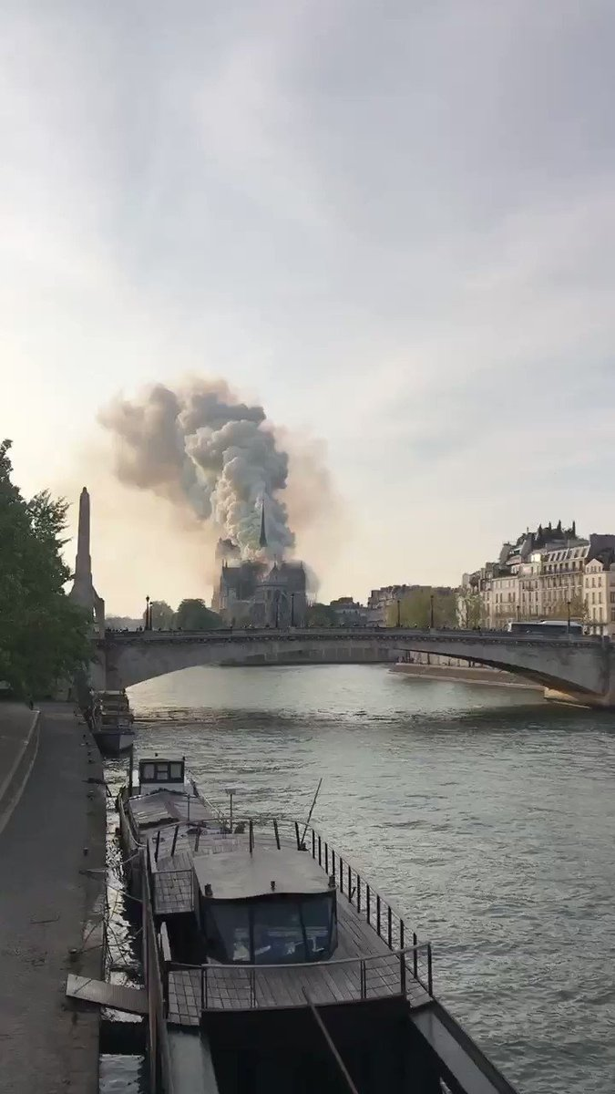 Image for the Tweet beginning: #notredame