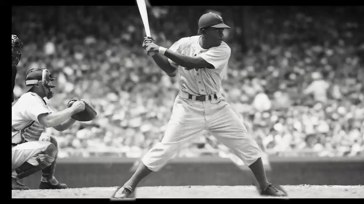 On this day in 1947, Jackie Robinson made his debut with the Brooklyn Dodgers #JackieRobinsonDay