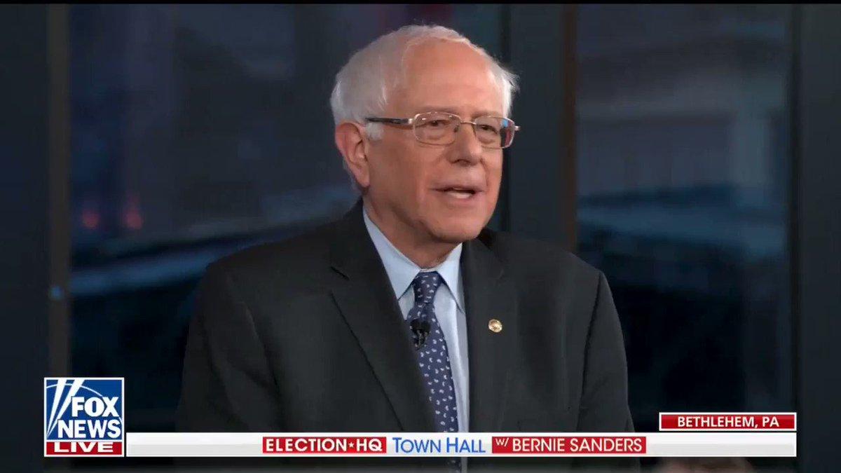 RT @People4Bernie: .@BernieSanders closing statement at #BernieTownHall on @FoxNews https://t.co/mrpB9jTgwn