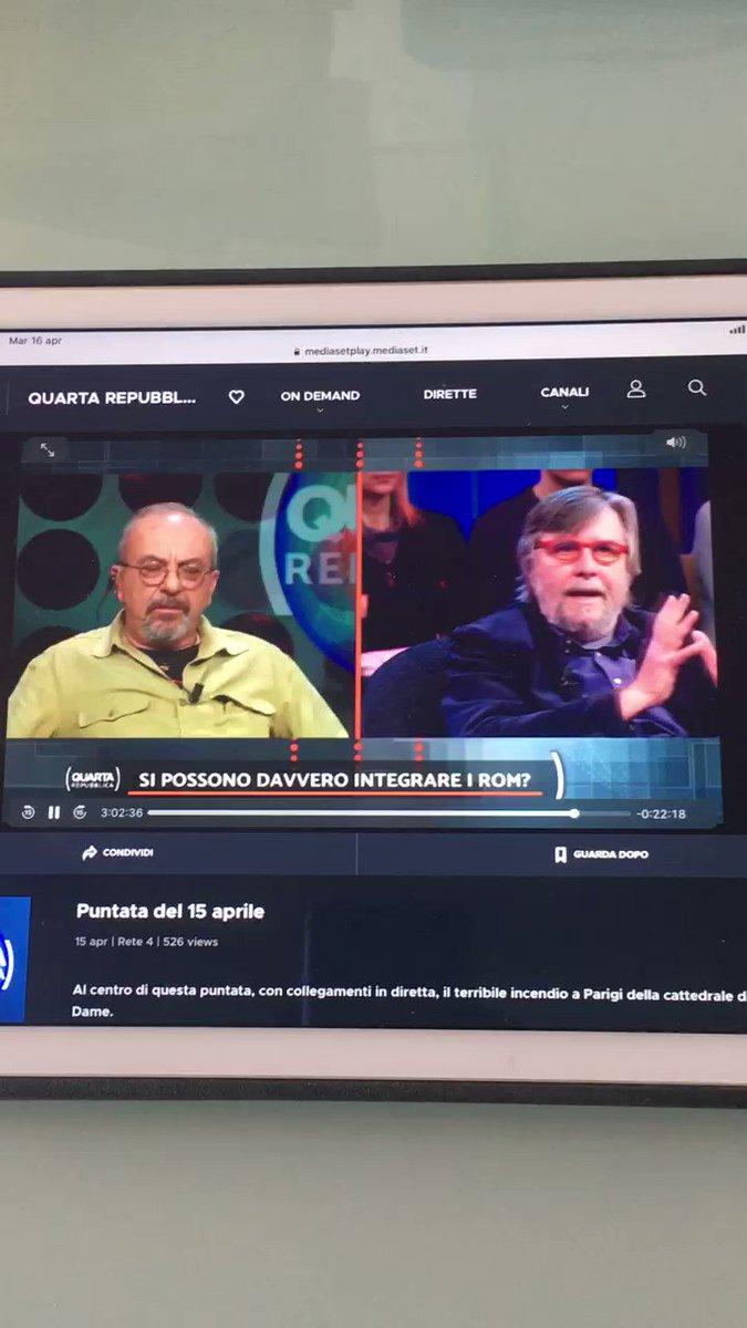 Daniele Capezzone's photo on #QuartaRepubblica