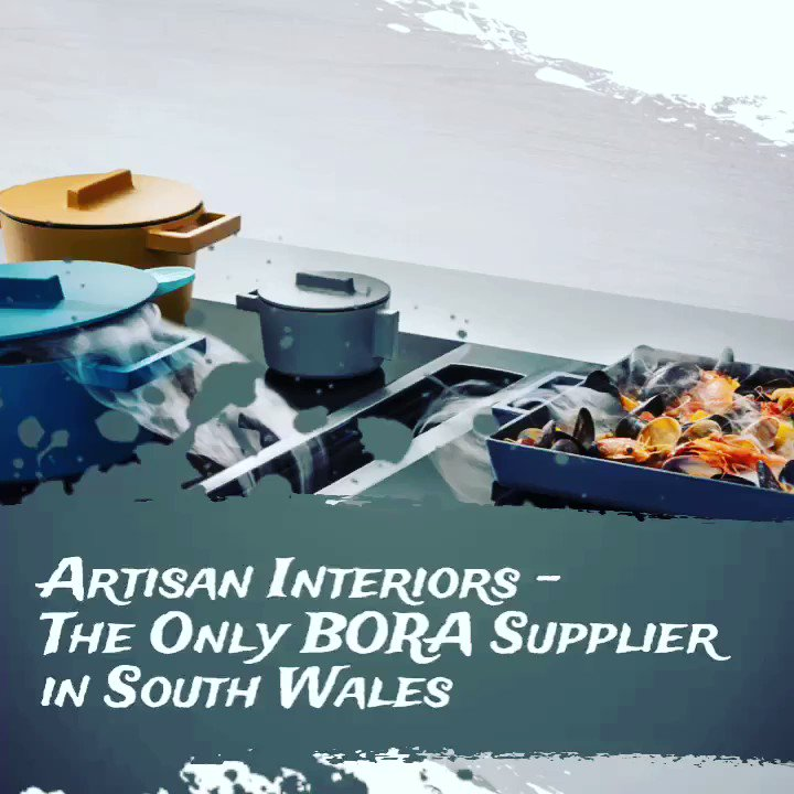 BORA Extractor Hobs draw off odour and grease particles before they rise into the air, eliminating one of the biggest drawbacks of open-plan living - lingering cooking smells. ♨️ #bora #boraextractorhobs #cookingsystems #artisan #cardiff