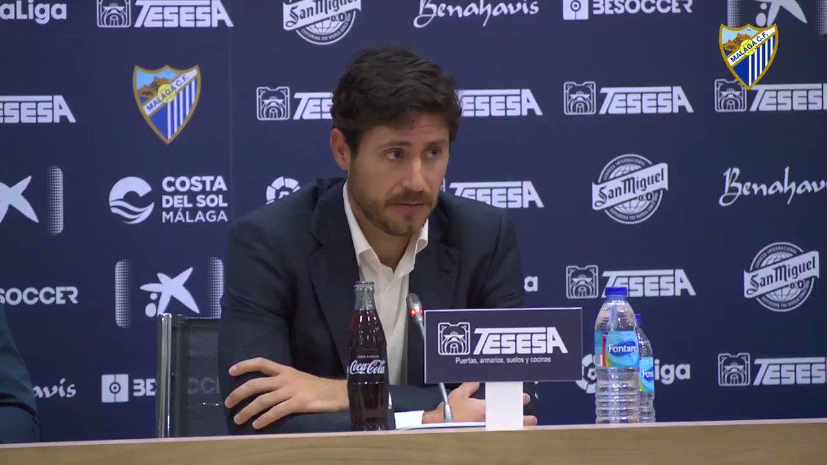 "MCFNews| 🎙️@Victor_SDA: ""He visto mucho optimismo e ilusión"" 💙  ➡️ https://bit.ly/2GqsUWB  #RuedaDePrensa #Presentación #BienvenidoVíctor"