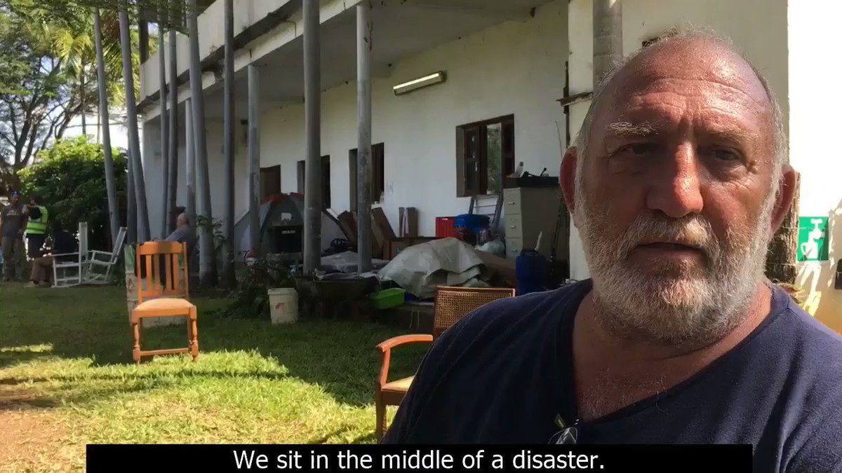 Why has TSF connection been helpful for humanitarian coordination at the Matarara hub? Mike, coordinator of the centre shares his feelings. #CycloneIdai #Mozambique #TSF_EmergencyResponse #TSF_Mozambique #Idai. Full video: http://bit.ly/IdaiMike