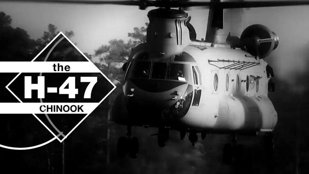 The world's most proven #helicopter, #Chinook Block II will continue to be the most capable heavy-lift aircraft through 2065 and beyond. #19SUMMIT