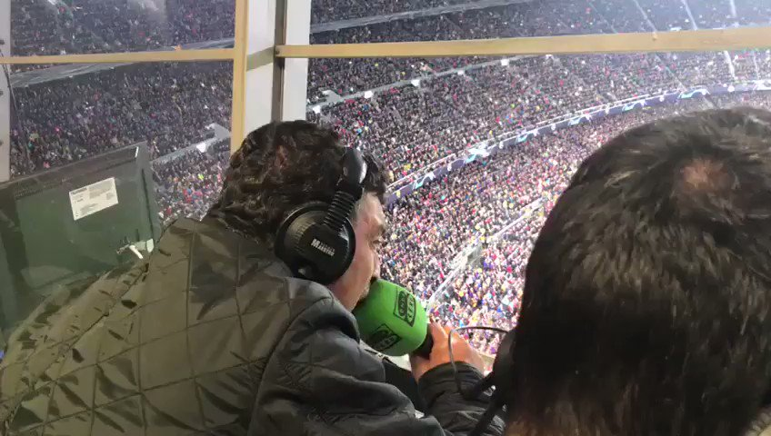 Crazy Spanish commentary on Messi's goal against Man United 😂😂