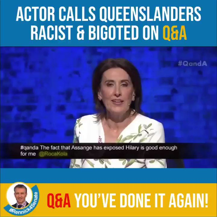Gerard Rennick - QLD Senate Candidate's photo on #QandA