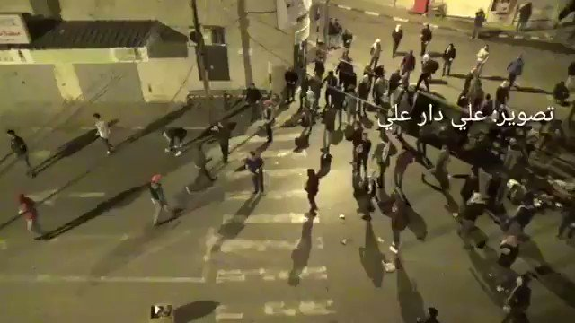 A part of the confrontations of Birzeit University students during the IDF's passing towards the town of Kober to demolish the home of the Ofra Junction shooter, Salah Barghouti. #WestBank #Israel
