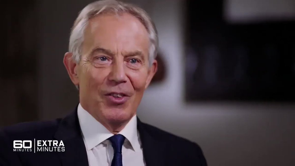Image for the Tweet beginning: Tony Blair - If the